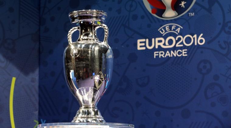 шампионският трофей от Евро 2016